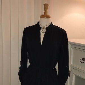 NWT-Basic black tunic dress